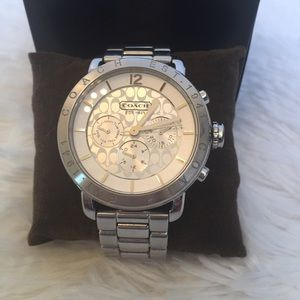 Coach Chronograph Boyfriend Watch